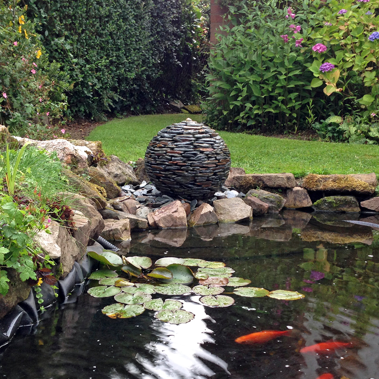Slate Balls Water Features
